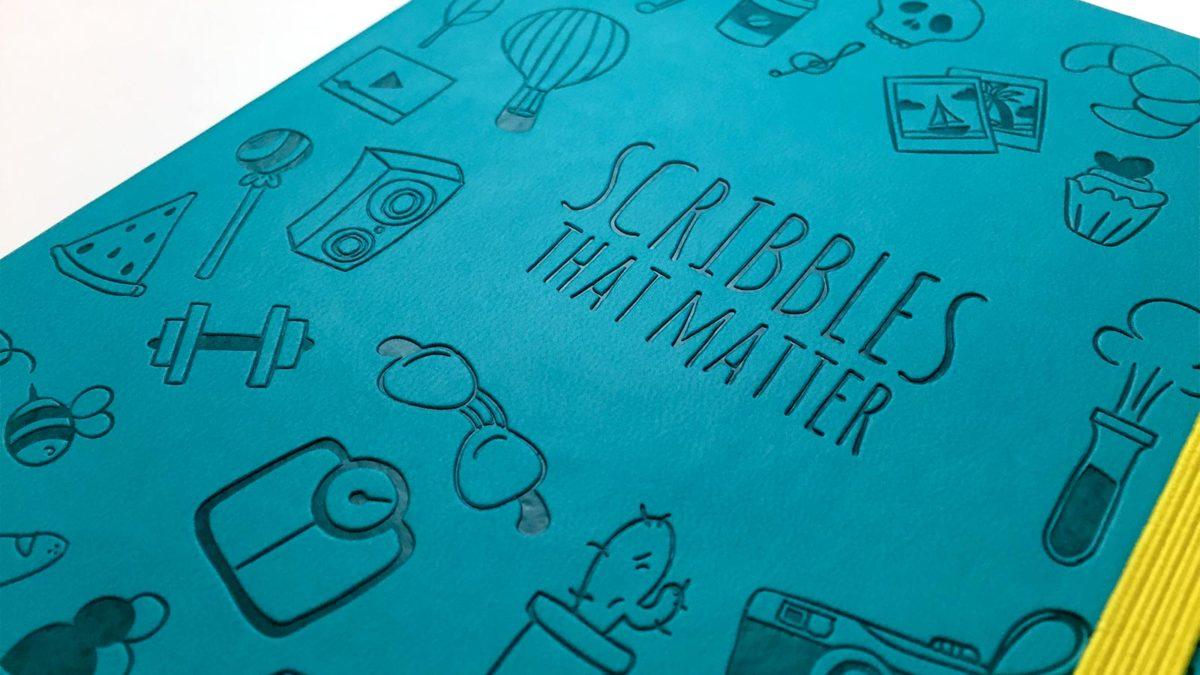 Scribbles That Matter, il quaderno del momento