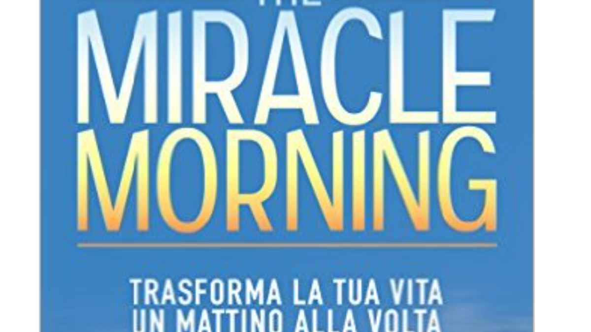 Il Miracle Morning nel bullet journal