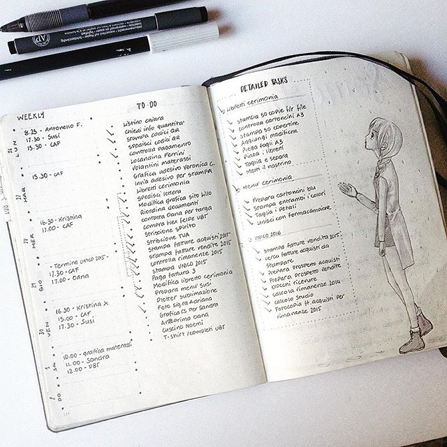 Il bullet journal by Sery Little Notes