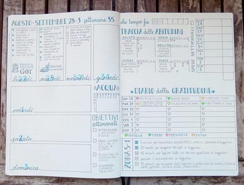 Il bullet journal by Elisabeth Samoris