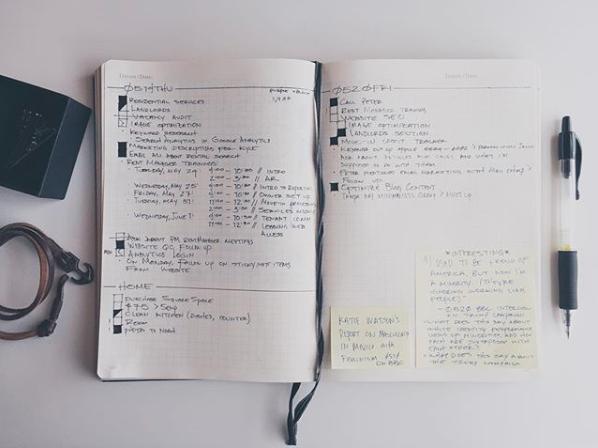 Il bullet journal minimalista by Austin Miller